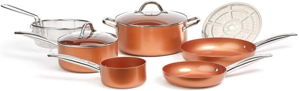 bridal shower gifts - pot and pans