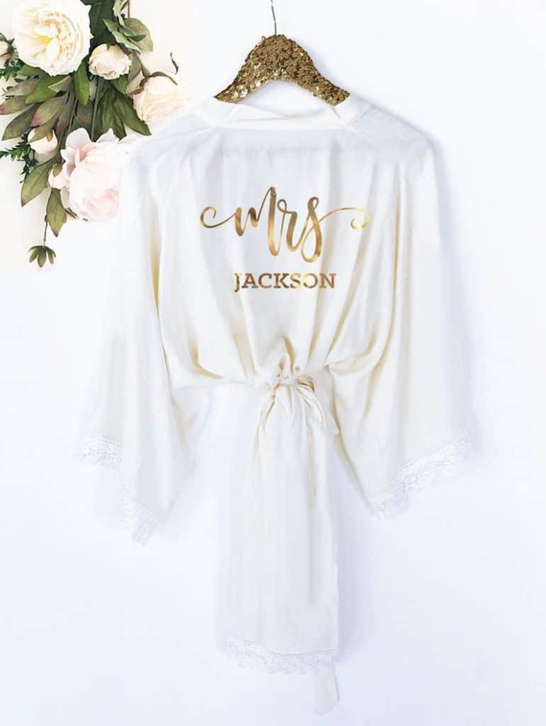 Bride Robe Personalized