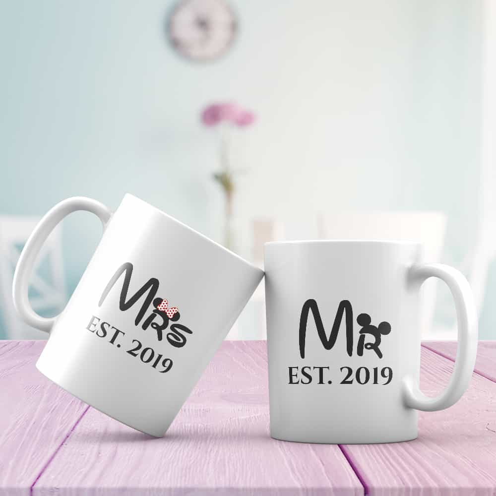 personalized bridal shower gifts - mug
