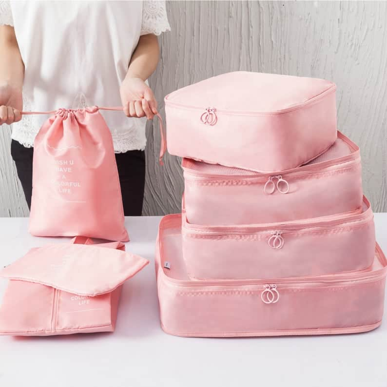 ideas for bridal shower gifts - packing cubes