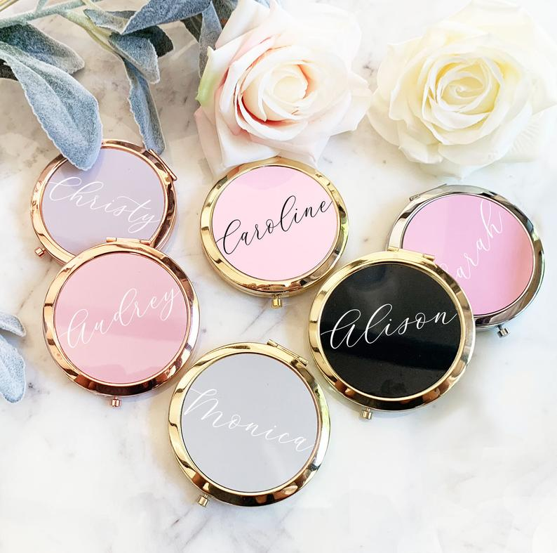 bridal shower favors - mirrors