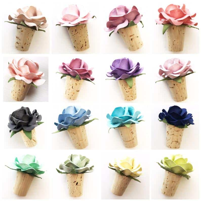 wedding shower - wine stoppers