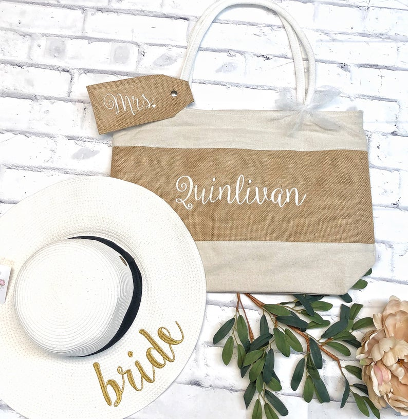 wedding gifts for my bride - tote bag