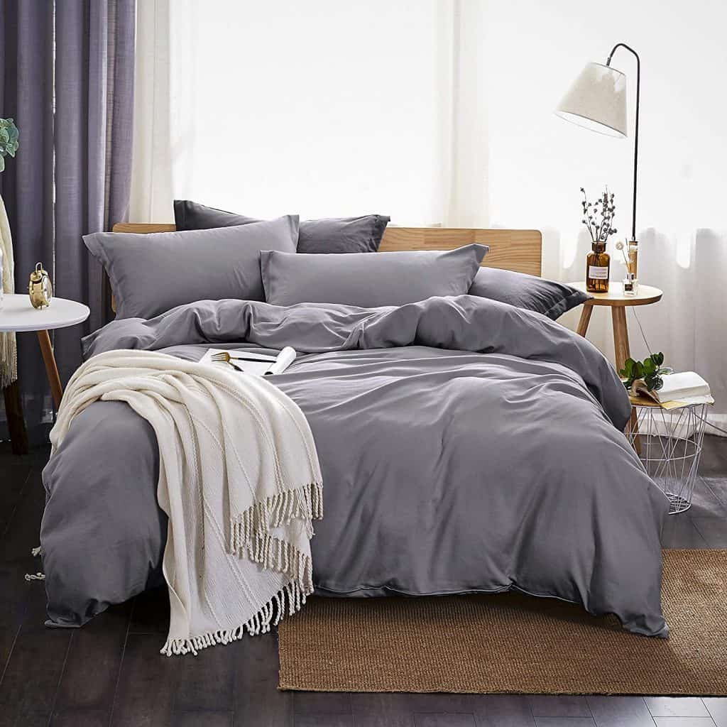 items to put on wedding registry:Bedding Duvet Cover 3 Piece Set