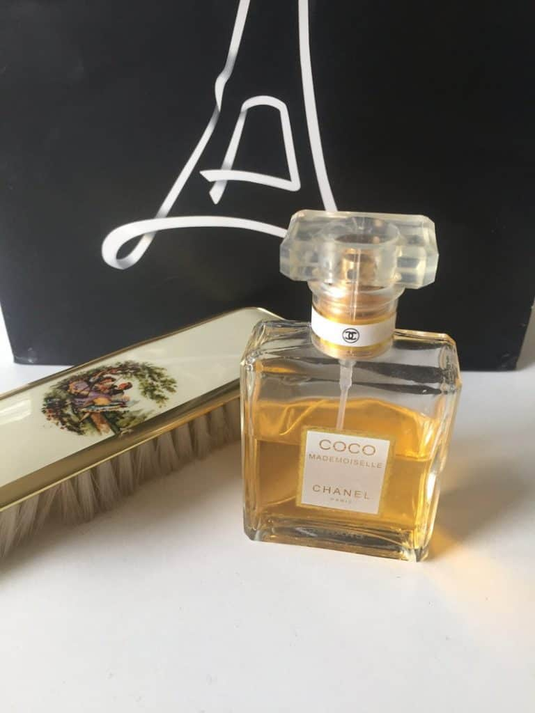 mother of the groom present:Coco Chanel Mademoiselle Paris Perfume