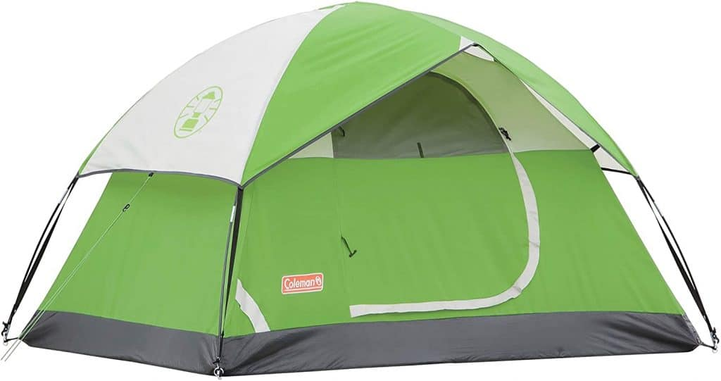 best things to register for:Coleman Sundome Tent