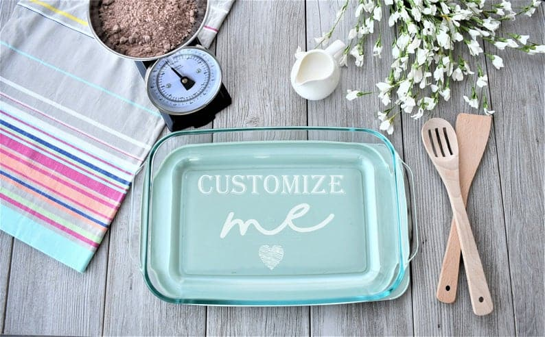 Custom Baking Dish