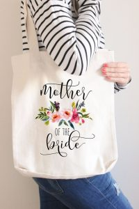 mothers wedding gift:Custom Mother Of The Bride Bag