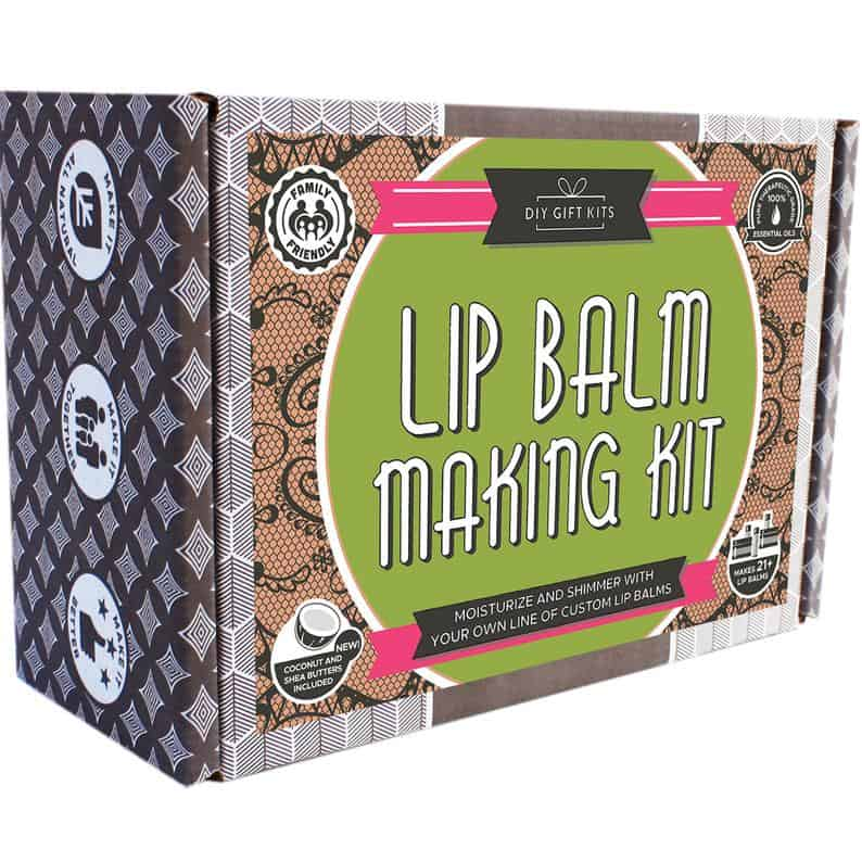 wedding gifts for mother of the groom:DIY Lip Balm Kit