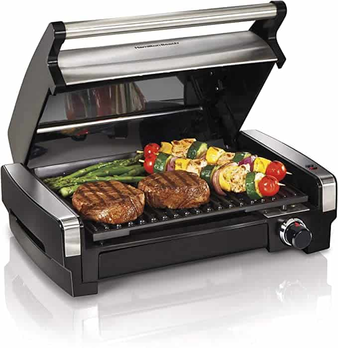best items to put on wedding registry:Electric Indoor Searing Grill