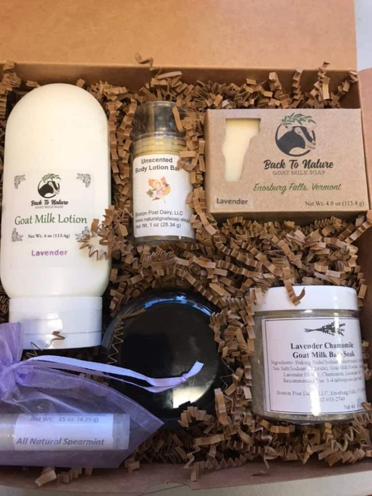Goat Milk Soap And Lotion Gift Set best mother of the bride gifts