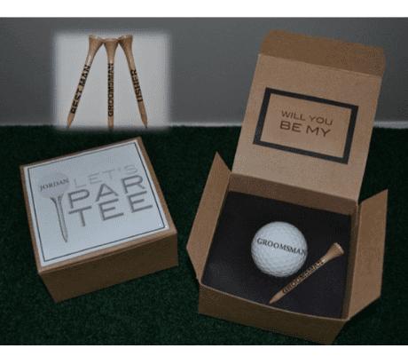 Groomsmen Golf Proposal (