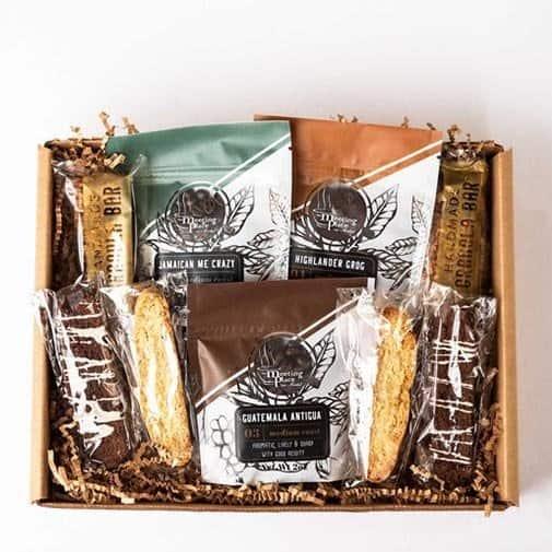 Gourmet Coffee Break Gift Basket