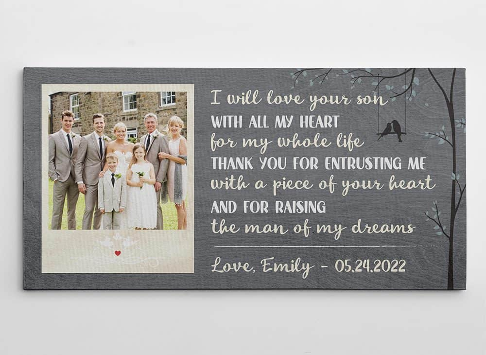 I Will Love Your Son Photo Canvas Print