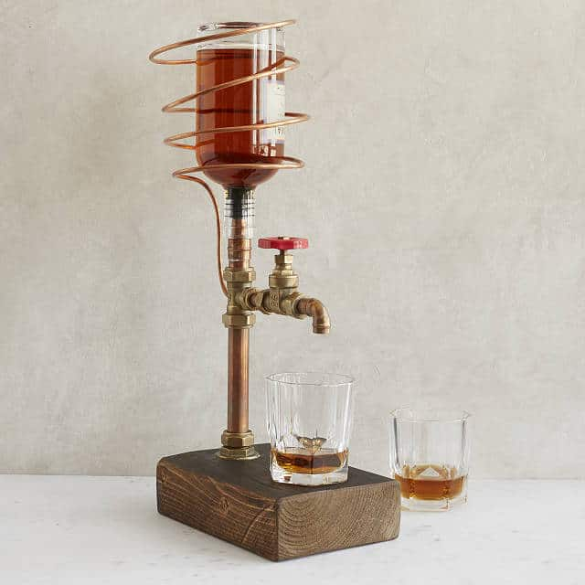 Industrial Brass &present for a wedding: Copper Drink Dispenser
