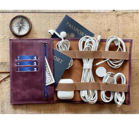 Leather Travel Holder