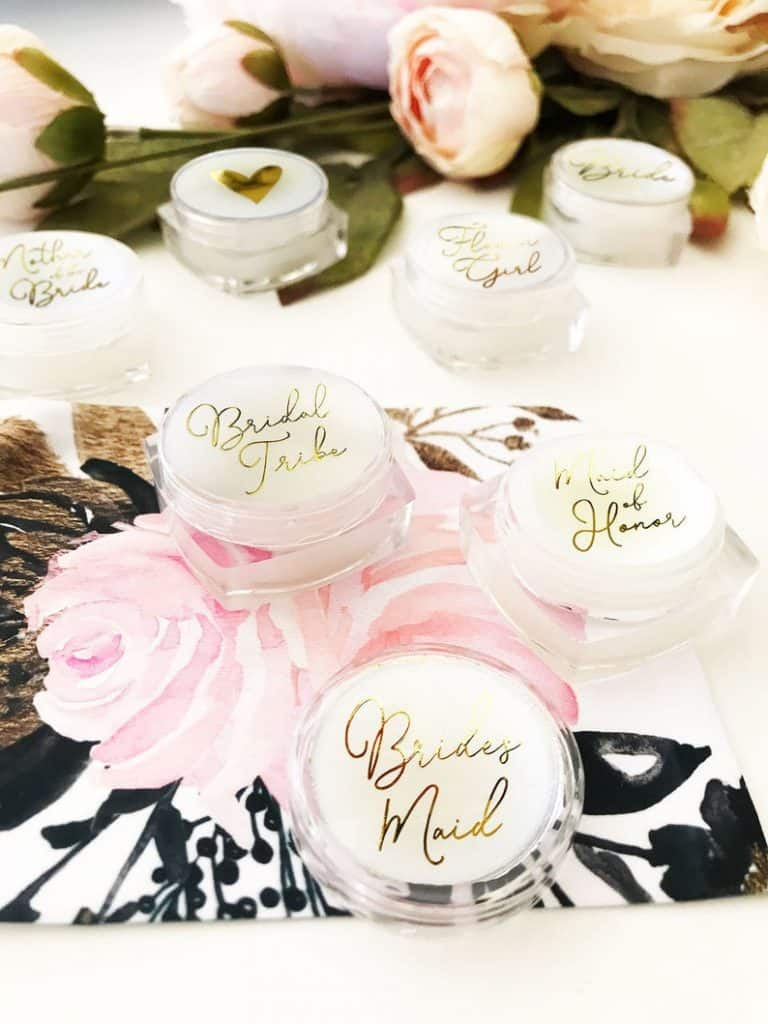 what to get my maid of honor:Lip Balms