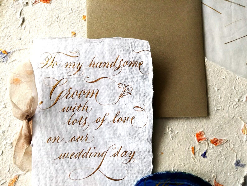 thoughtful husband gifts:Love Note to Future Husband