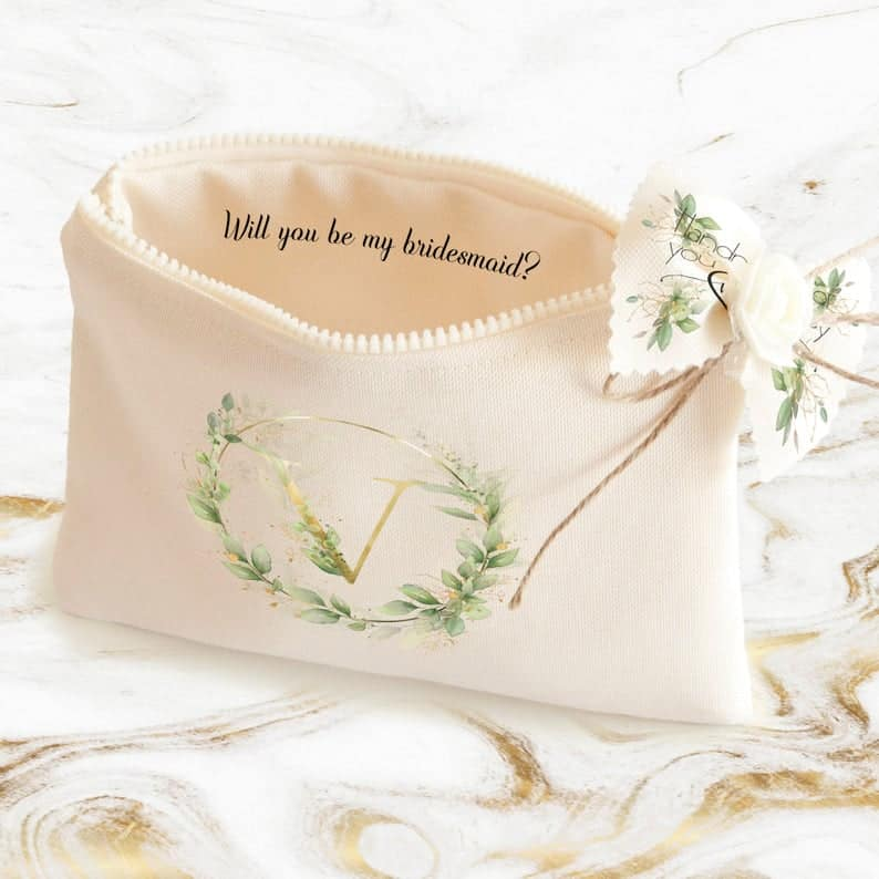 Makeup Bag Gifts Maid of Honor