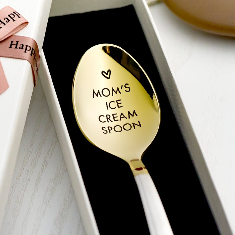 Moms ice cream spoon
