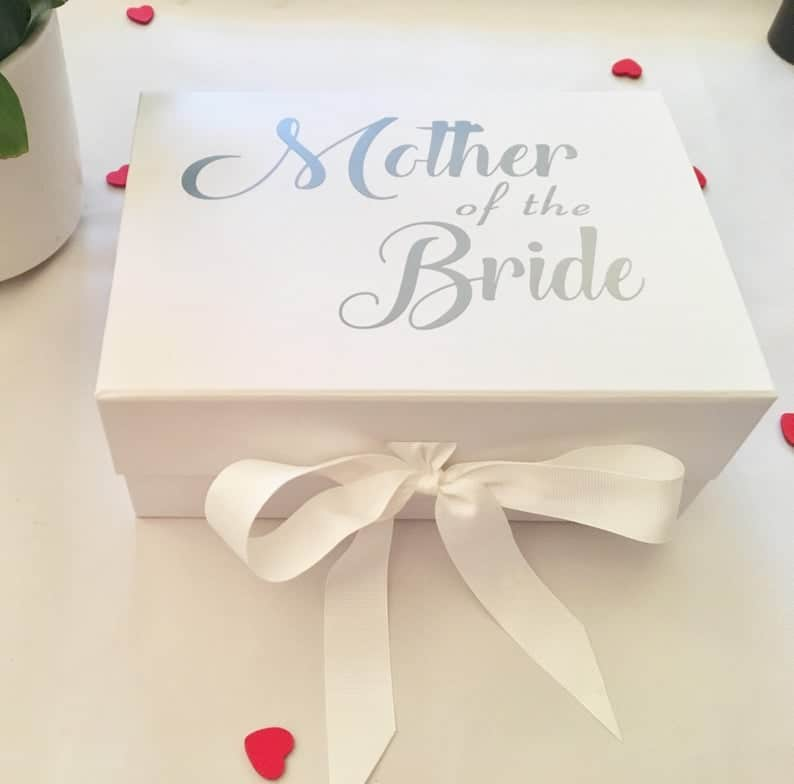 Mother Of The Bride Gift Box