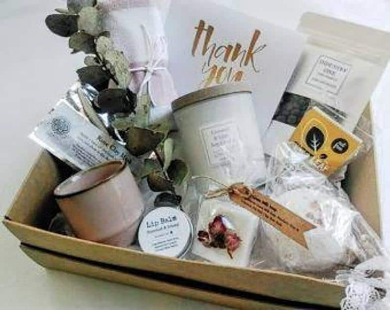 Pamper Thank you Gift Box