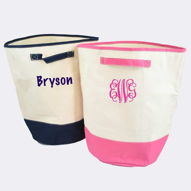 Personalized Laundry Baske