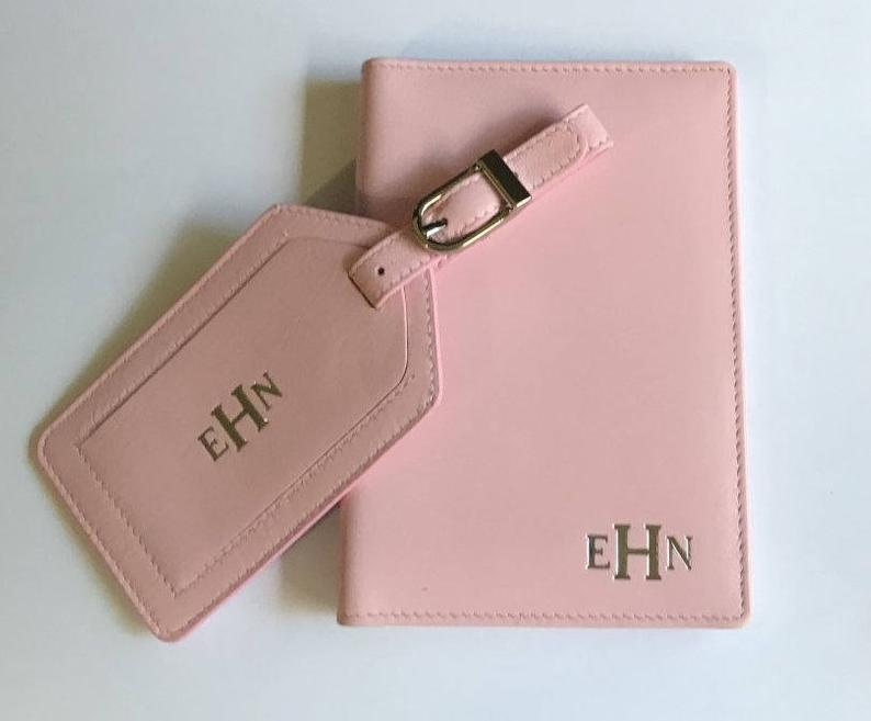 Personalized Passport Cover & Luggage Tags