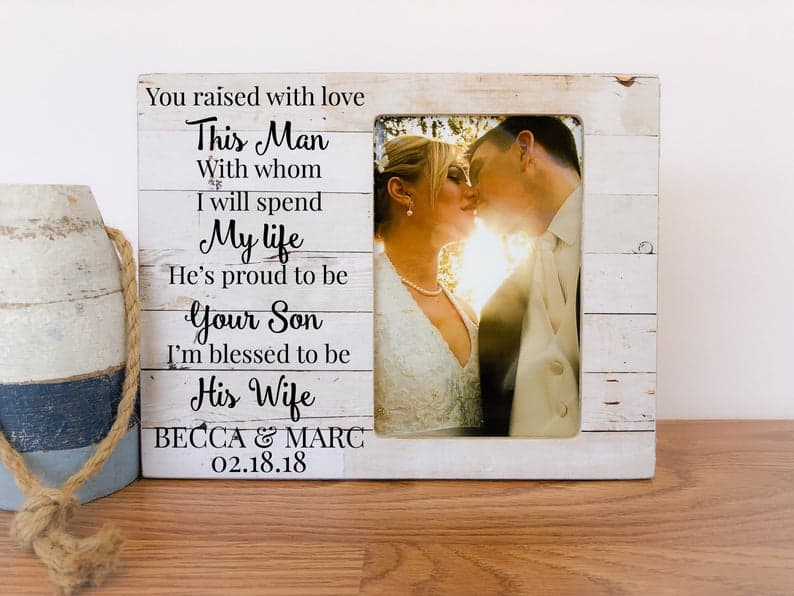 Personalized Wedding Thank You Gift