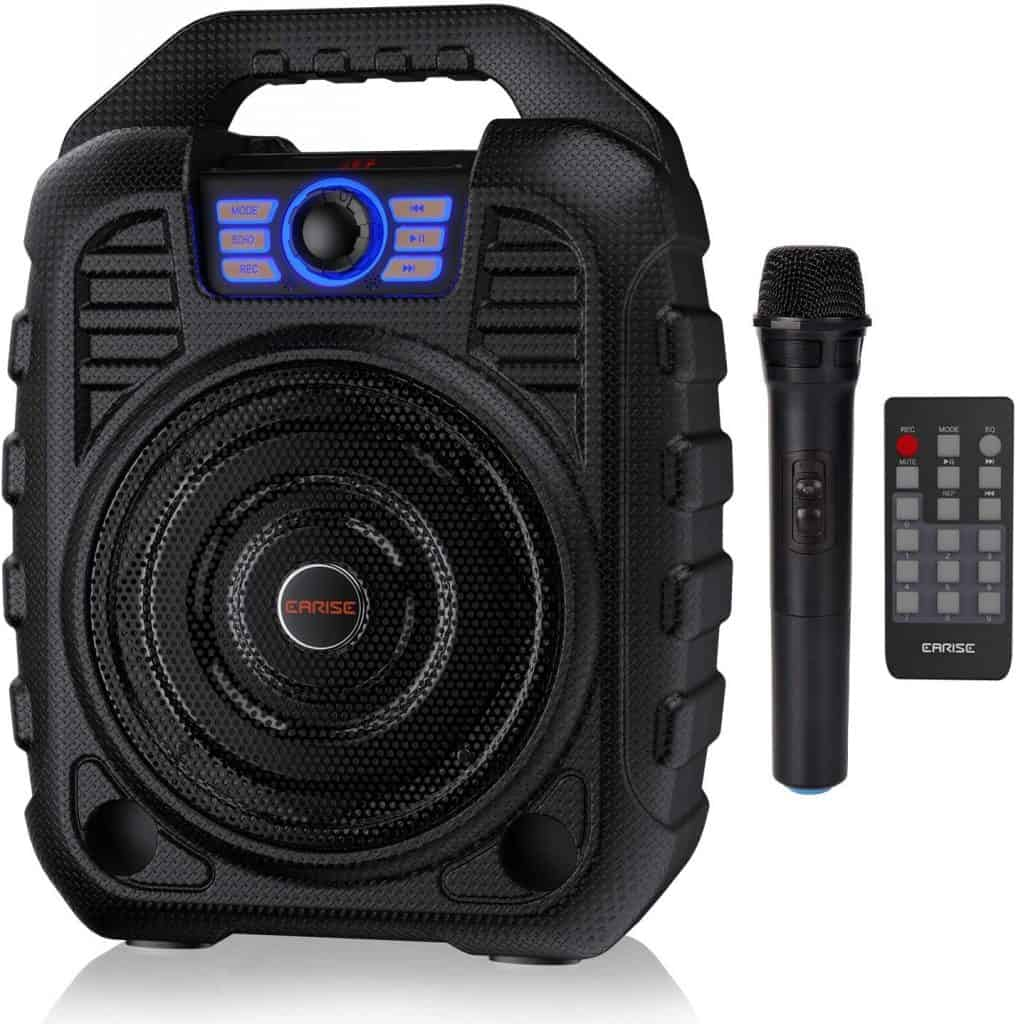 Portable Karaoke Machine Bluetooth Speaker with Wireless Microphon