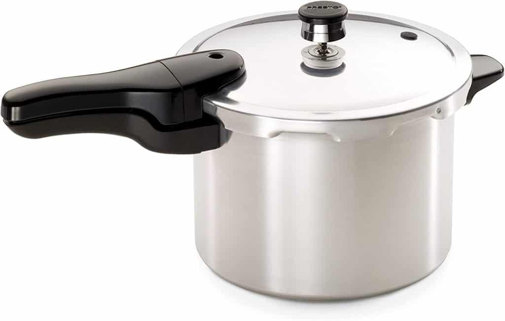 top wedding registry items:Quart Aluminum Pressure Cooker