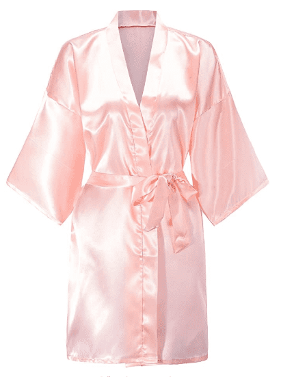 Robes for Wedding Party Getting Ready