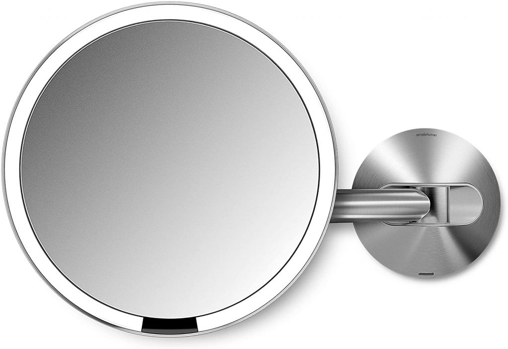 top items to put on a registry:Sensor Lighted Makeup Vanity Mirror