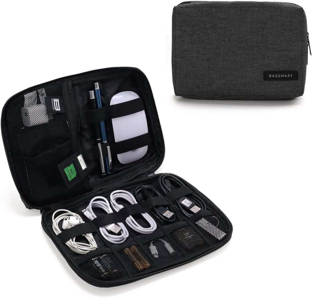what to ask for wedding registry:Small Travel Cable Organizer Bag for Hard Drives