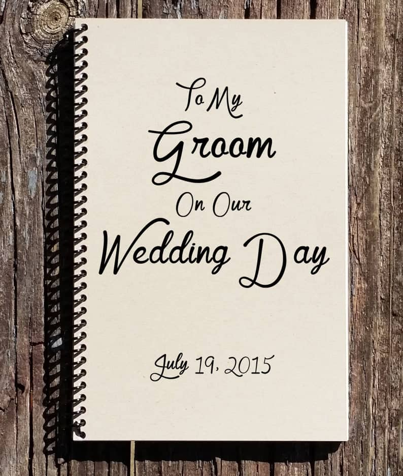 coolest wedding gifts ever:To My Groom on our Wedding Day - Groom Gift