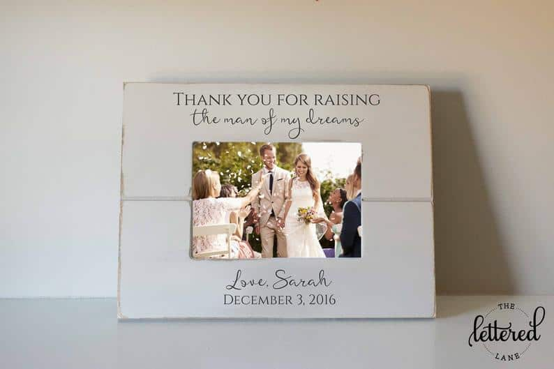 gifts for mother in law on wedding day:Wedding Picture Frame
