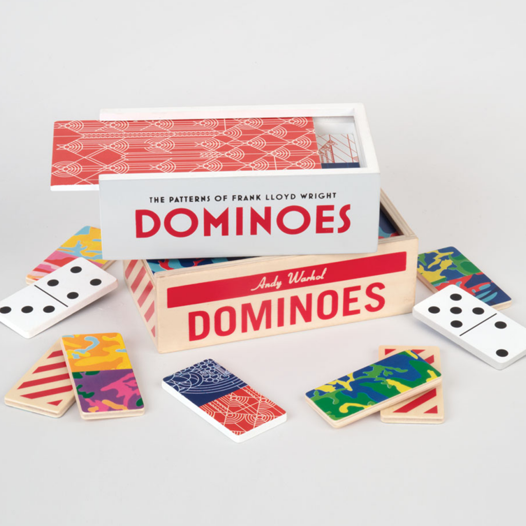 gift ideas for my groom:Wooden Dominoes