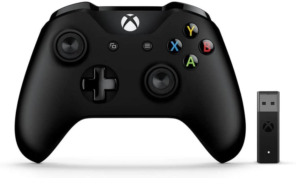 XBox Wireless Controller + Wireless Adapter