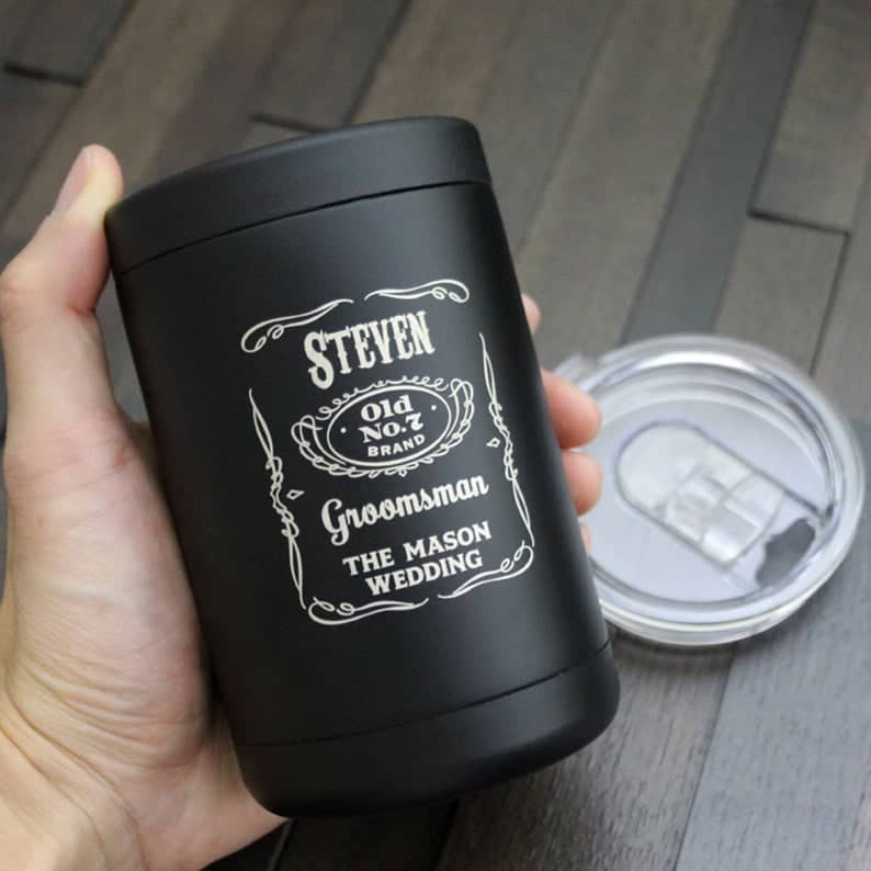 bachelor party gifts - cooler tumbler