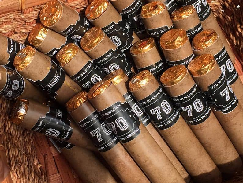 bachelor party gifts - chocolate cigars