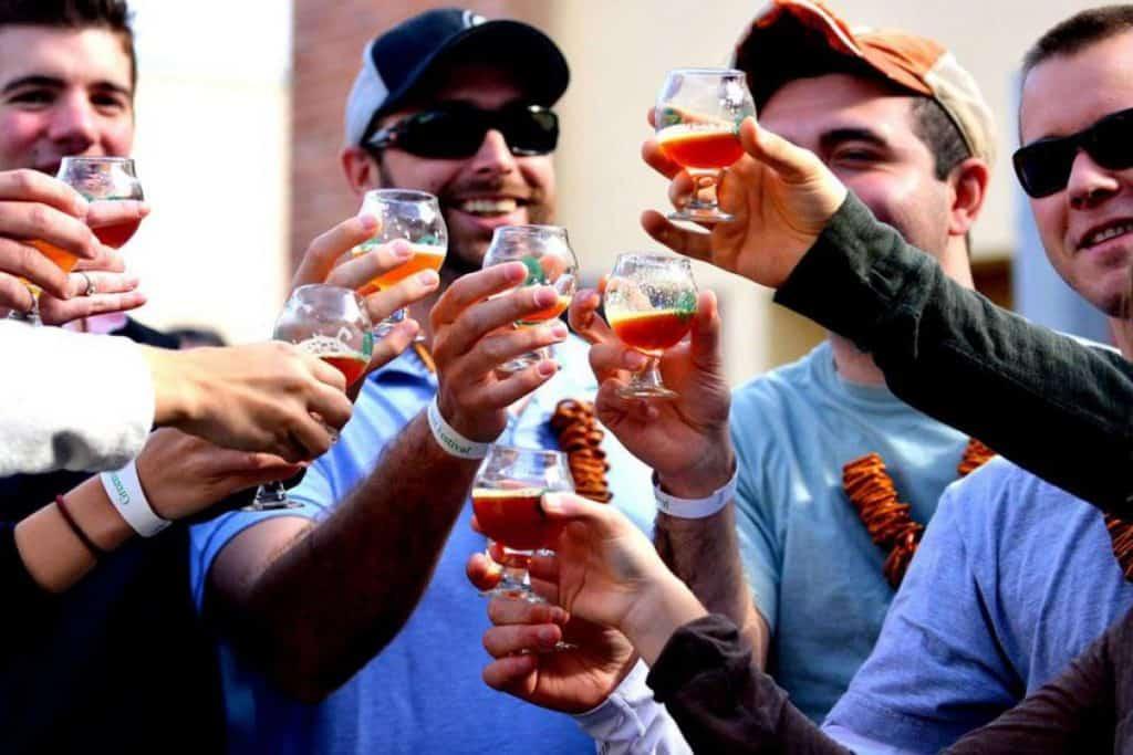 best man gifts - beer fest ticket