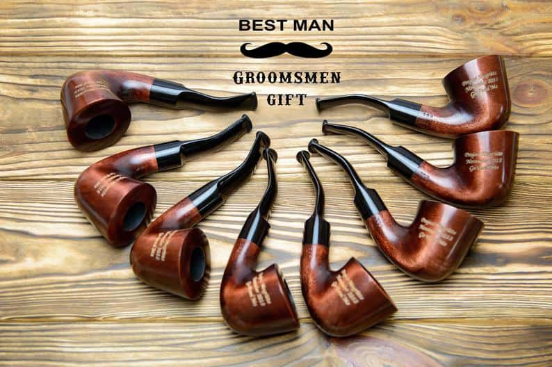gift ideas for best man - tobaco pipe