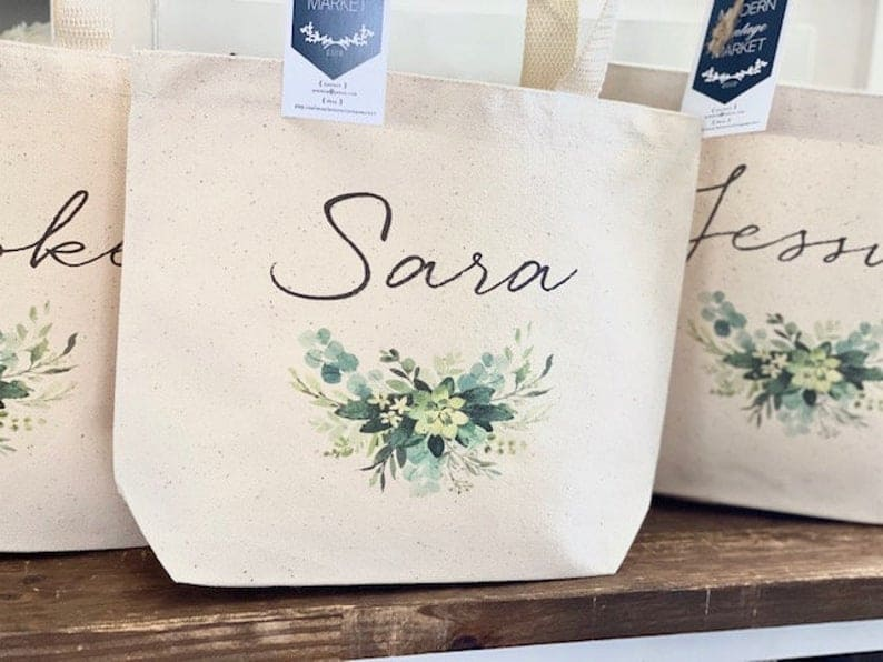 bridesmaid gift bag ideas