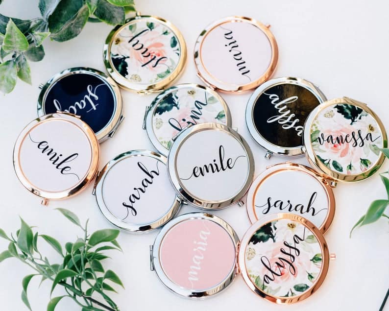 mirror - bridesmaid gift ideas