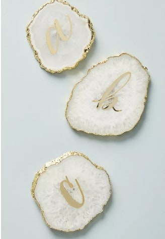 bridesmaid gift ideas - coaster