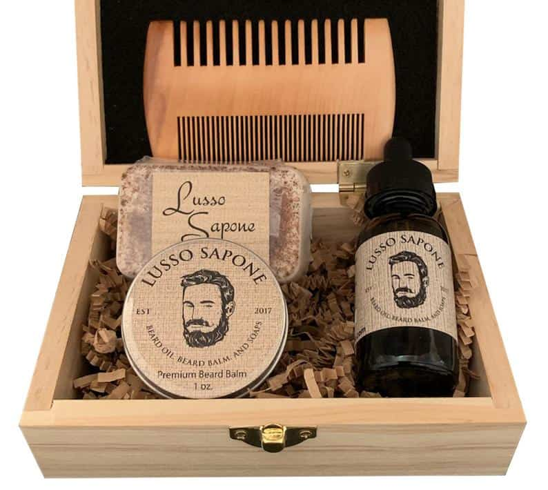 father of the groom gifts - beard grooming kit