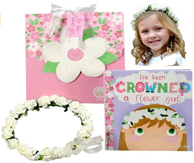 flower girl gift ideas - book