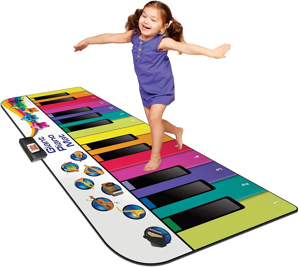 piano floor mat