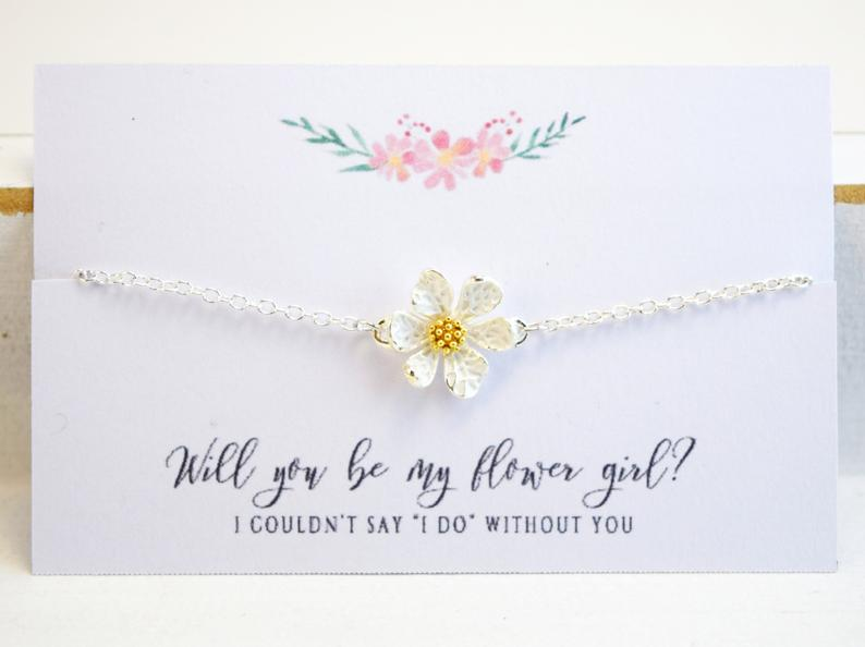 flower girl gift ideas - bracelet