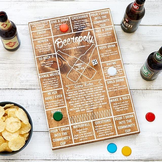 groomsmen gift ideas - beeropoly